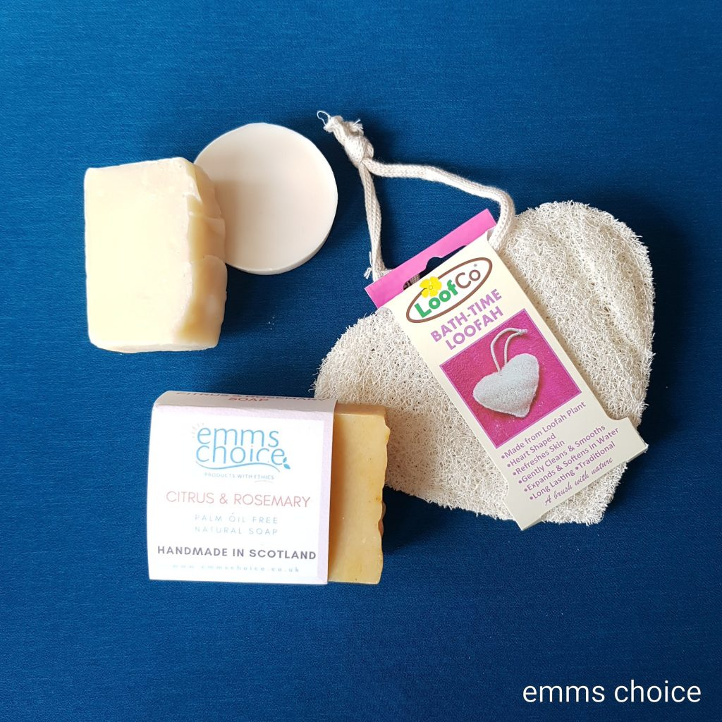 plastic free shower products